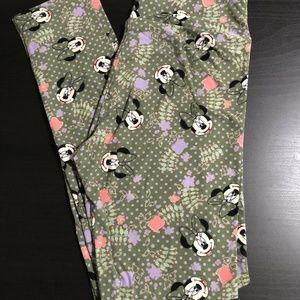 LuLaRoe Pants - LuLaRoe OS Disney Minnie Mouse Leggings
